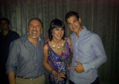 Fernando Salinero con Irene villa