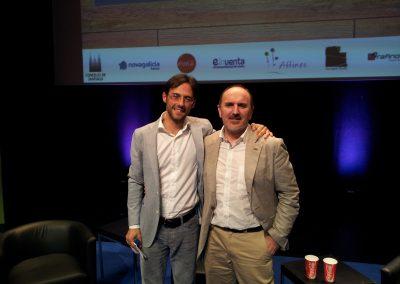 Fernando Salinero con Sergio Fernández