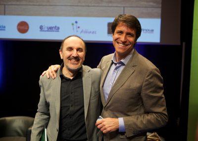 Fernando Salinero en el Congreso en Santiago de Compostela, 18 y 19 de abril 2013
