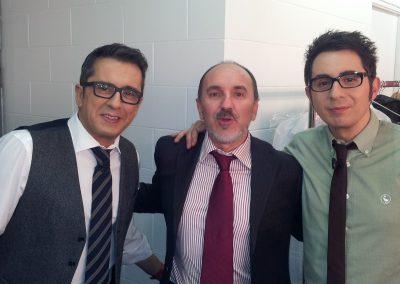 Fernando Salinero con Buenafuente