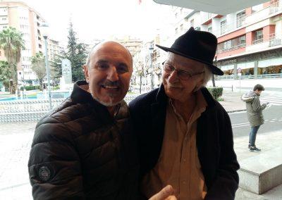 Fernando Salinero con Escohotado
