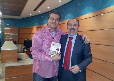 Fernando Salinero con Ramón García