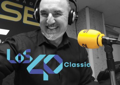 Fernando Salinero en los 40 Classic