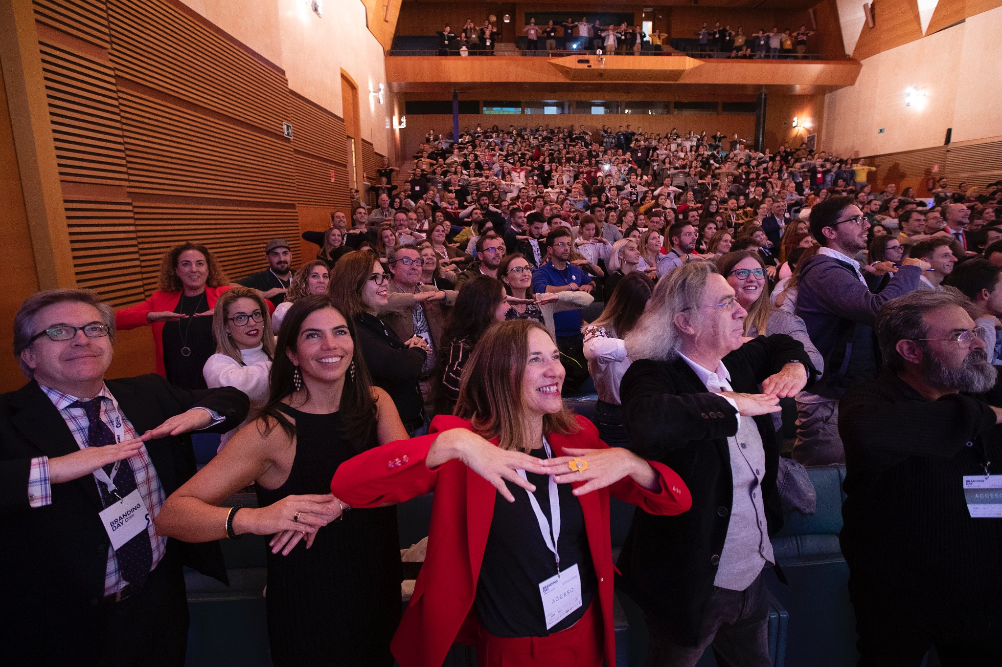 Conferencia de Fernando Salinero en Cádiz. Público.